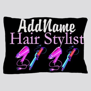 SNAZZY HAIR STYLIST Pillow Case