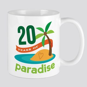 20th Anniversary Paradise Mug