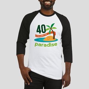 40th Anniversary (Tropical) Baseball Jersey
