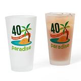 40th anniversary Drinking Glass