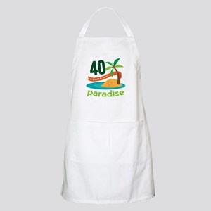 40th Anniversary (Tropical) Apron