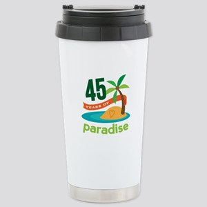 45th Anniversary (tropical) Stainless Steel Travel