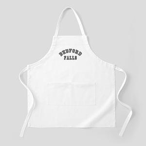 Bedford Falls Grey Lettering BBQ Apron