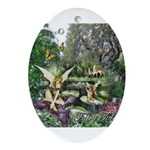 Fairy Tales Ornament (Oval)