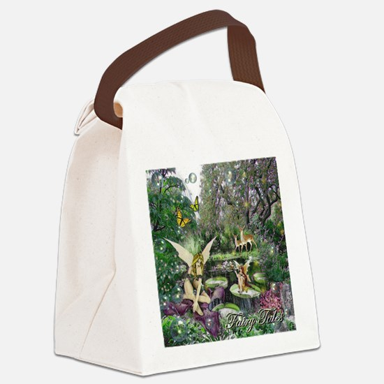 Fairy Tales Canvas Lunch Bag