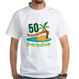 50 year anniversary Mens Classic White T-Shirts