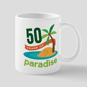 50th Anniversary paradise Mug