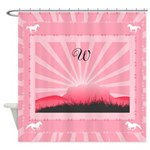 Monogram Western Shower Curtain