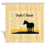 Personalized Ranch Shower Curtain