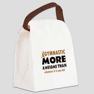 Awesome Gymnastics Designs Canvas Lunch Bag