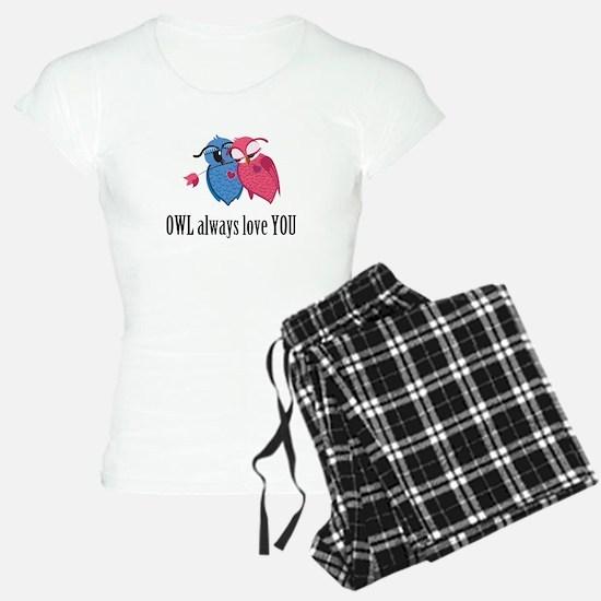 Romantic Owls Pajamas
