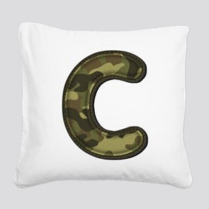 C Army Square Canvas Pillow