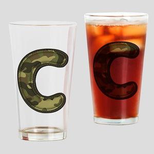 C Army Drinking Glass