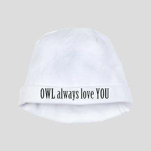 Romantic Owls baby hat