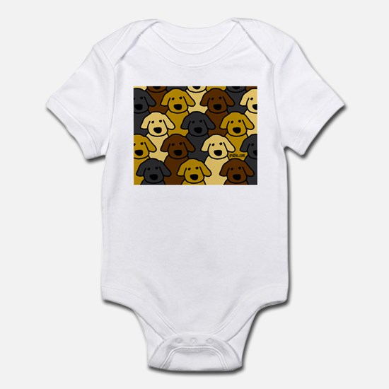 Dogs Marching Infant Bodysuit