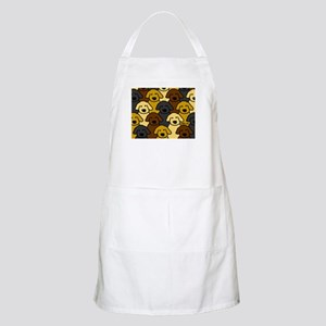 Dogs Marching BBQ Apron