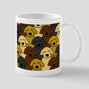 Dogs Marching Mug