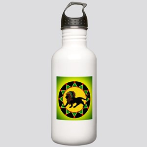 Jah King Rasta Lion Water Bottle