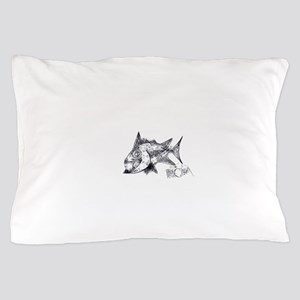 Spike The Fish 2 Pillow Case