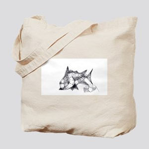 Spike The Fish 2 Tote Bag