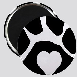 Heart In Paw Magnet