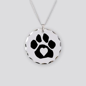 Heart In Paw Necklace