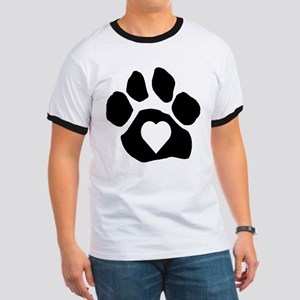Heart In Paw T-Shirt