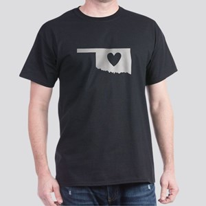 Heart Oklahoma Dark T-Shirt