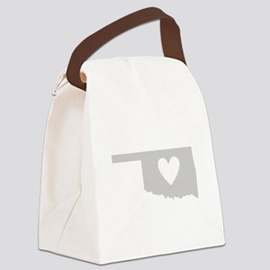 Heart Oklahoma Canvas Lunch Bag