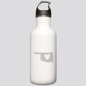 Heart Oklahoma Stainless Water Bottle 1.0L