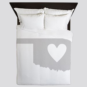 Heart Oklahoma Queen Duvet