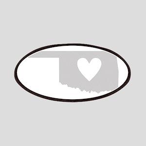 Heart Oklahoma Patches