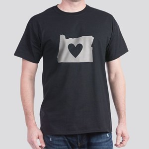 Heart Oregon Dark T-Shirt