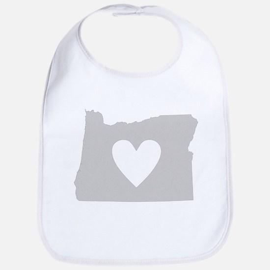 Heart Oregon Bib