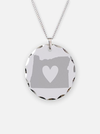Heart Oregon Necklace