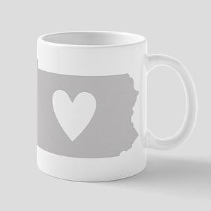 Heart Pennsylvania Mug