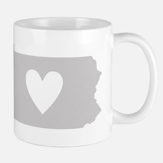 Heart Pennsylvania Mug