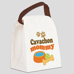 Cavachon Mommy Canvas Lunch Bag