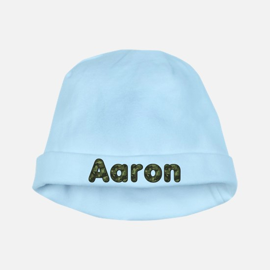 Aaron Army baby hat