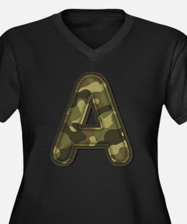 A Army Plus Size T-Shirt
