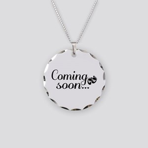 Coming Soon - Baby Footprints Necklace Circle Char