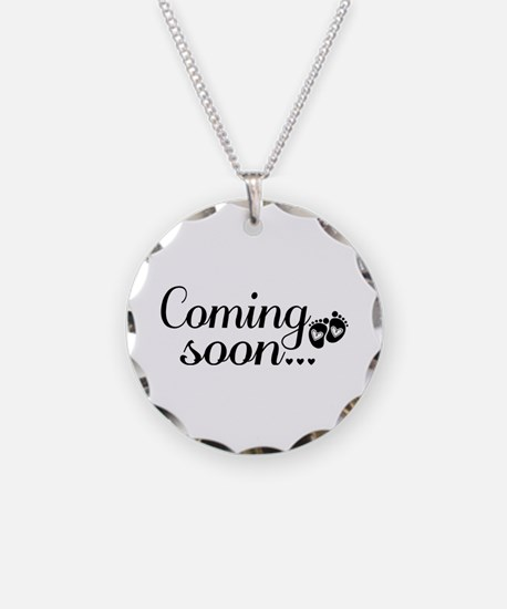 Coming Soon - Baby Footprints Necklace