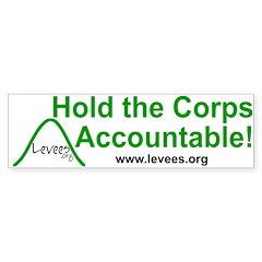 Levees.Org Bumper Bumper Sticker