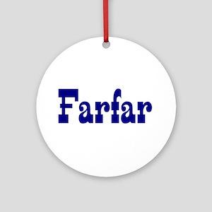 Farfar Ceramic Ornament