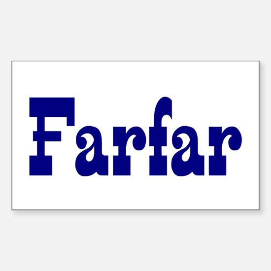 Farfar Vinyl Decal