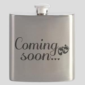 Coming Soon - Baby Footprints Flask