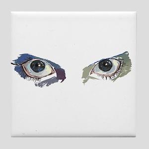 eyes Tile Coaster