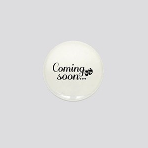 Coming Soon - Baby Footprints Mini Button