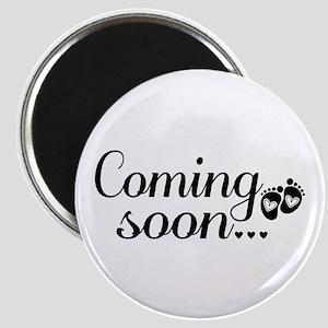Coming Soon - Baby Footprints Magnet