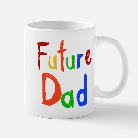 Primary Colors Future Dad Mug